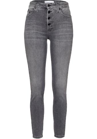 Calvin Klein Jeans 5-Pocket-Jeans »HIGH RISE SUPER SKINNY ANKLE« kaufen