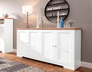 home affaire sideboard nanna breite 155 cm online bei otto. Black Bedroom Furniture Sets. Home Design Ideas