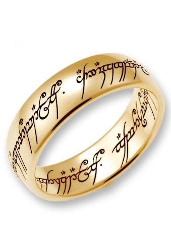 Der Herr der Ringe Goldring »Der Eine Ring - Gold, 10004073, 10004074, 10004075«, Made... kaufen