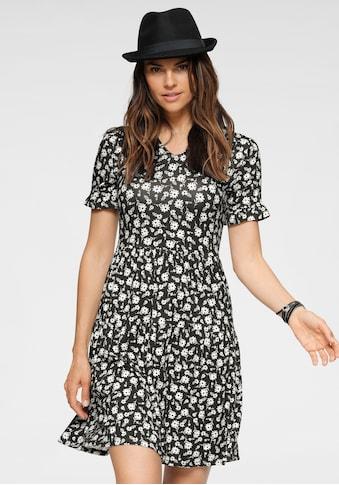 Boysen's Jerseykleid, im modischen Stufen-Look kaufen