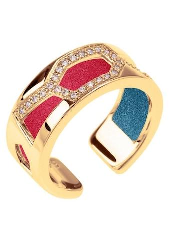 Les Georgettes Ring - Set »GIRAFFE GOLD - ZIRKONIA, 8 mm, petrol - himbeere, GIRG8SZ - M7, GIRG8MZ - M7« (Set, 2 tlg.) kaufen