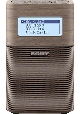 Sony Radio »XDR-V1BTD«, (Bluetooth-NFC Digitalradio (DAB+)-FM-Tuner mit RDS) kaufen