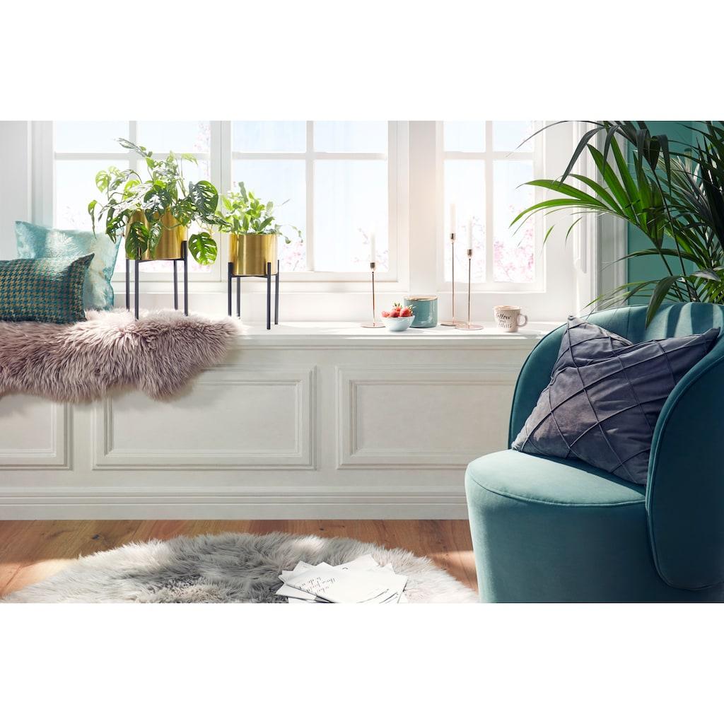 Gözze Stuhlkissen »Stuhlauflage«, aus echtem Schaffell