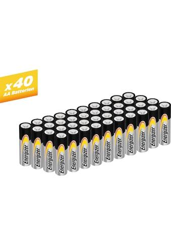 Energizer Batterie »Alkaline Power Mignon (AA) 40 Stück« kaufen