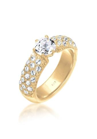 Elli Fingerring »Verlobungsring Kristalle 925 Silber« kaufen