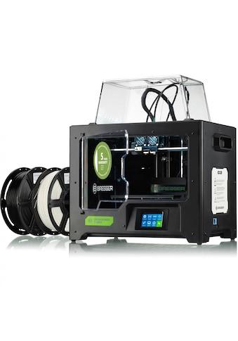 BRESSER 3D-Drucker »T-REX WLAN 3D Drucker mit Twin Extruder«, 3D Drucker kaufen