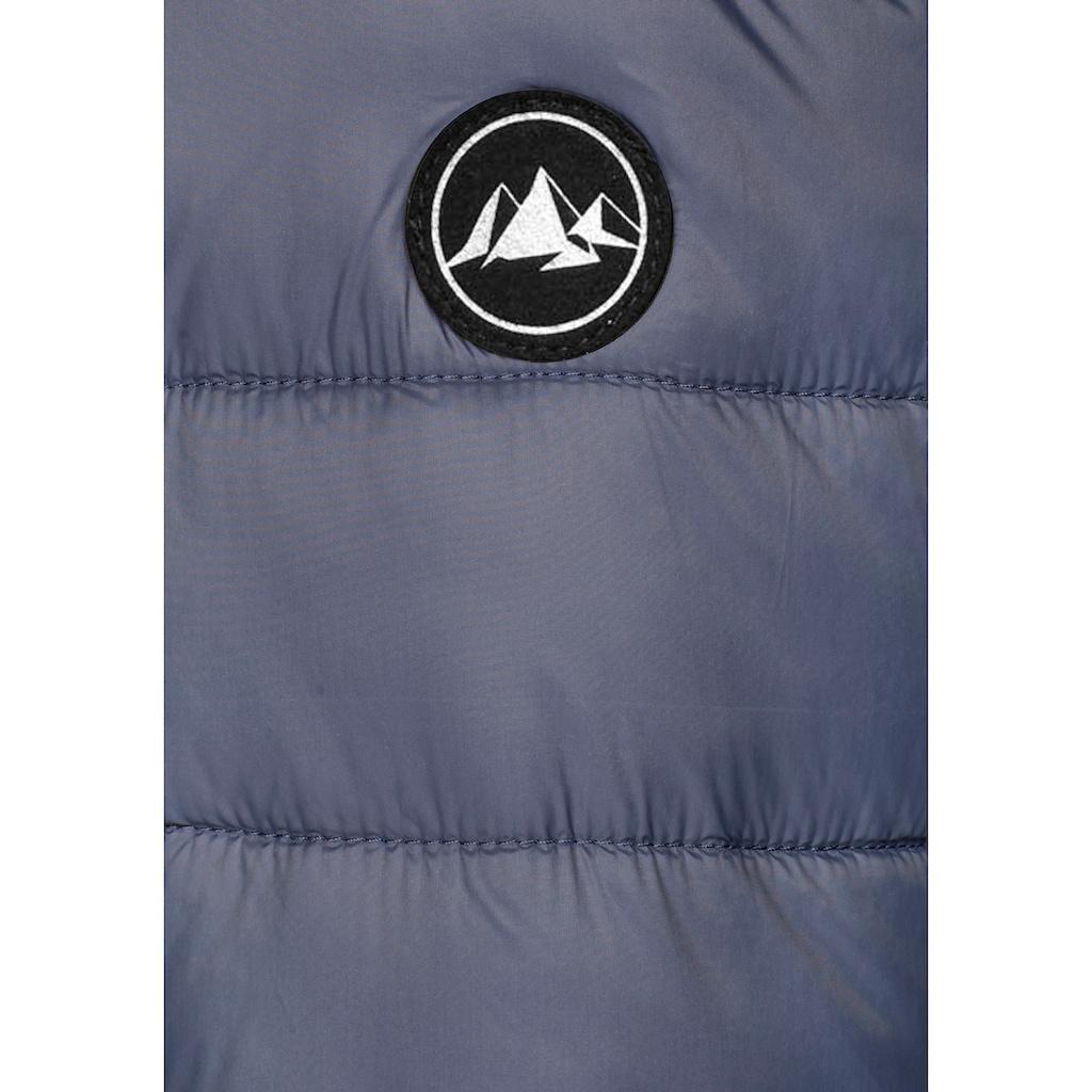 Polarino Steppjacke, aus der Zip-System-Serie