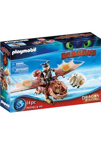 Playmobil® Konstruktions-Spielset »Dragon Racing: Fischbein und Fleischklops (70729),... kaufen