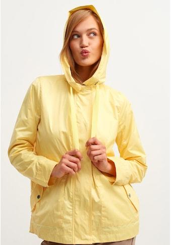 OXXO Regenjacke, mit seitlichen Eingrifftaschen und Zugbund Detail kaufen