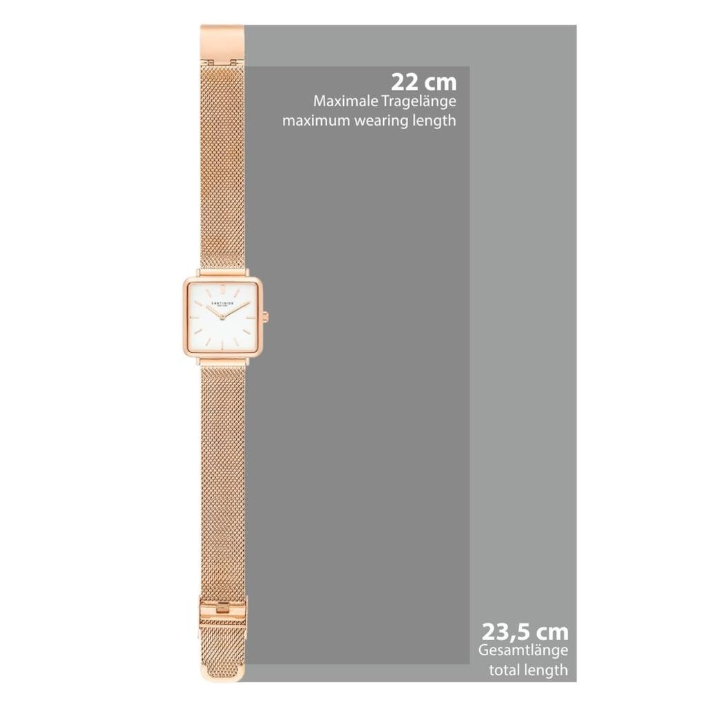 Eastside Quarzuhr »ES203«, (1 tlg.), mit Milanaise-Armband