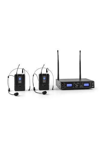Malone 2-Kanal UHF-Funkmikrofon-Set 50m Reichweite »Duett-Pro-V2« kaufen