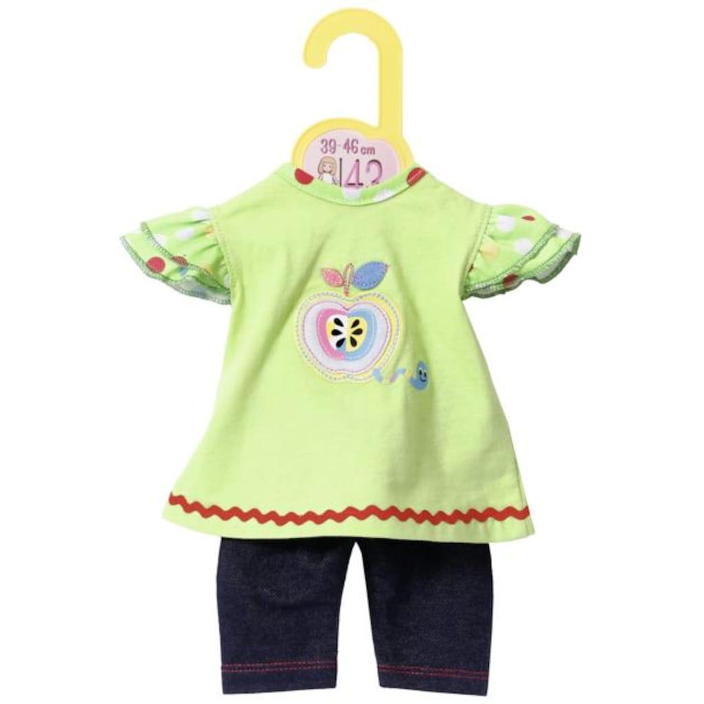 Zapf Creation® Puppenkleidung »Dolly Moda Shirt mit Leggings«