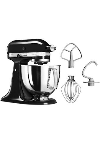 KitchenAid Küchenmaschine »Artisan 5KSM125EOB Qnyx Schwarz«, 300 W, 4,8 l Schüssel kaufen