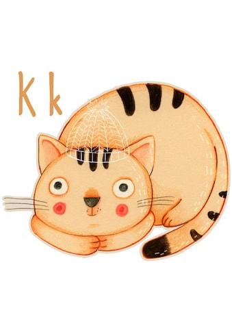 Wall-Art Wandtattoo »Katze Kater Buchstabe K« kaufen