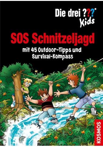 Buch »Die drei ??? Kids, SOS Schnitzeljagd / Ulf Blanck, Astrid Schulte, Jan Saße« kaufen