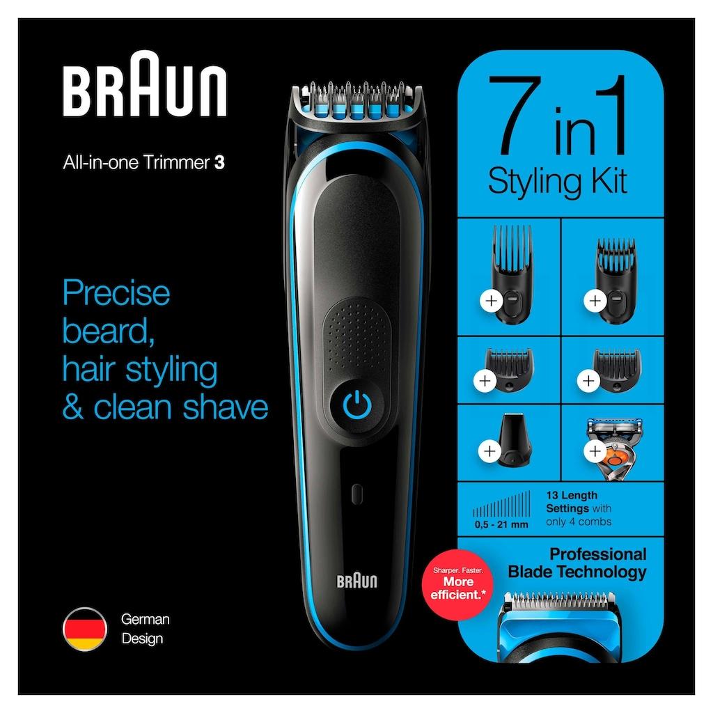 Braun Multifunktionstrimmer »7-in-1 Multi-Grooming-Kit 3 MGK3245«