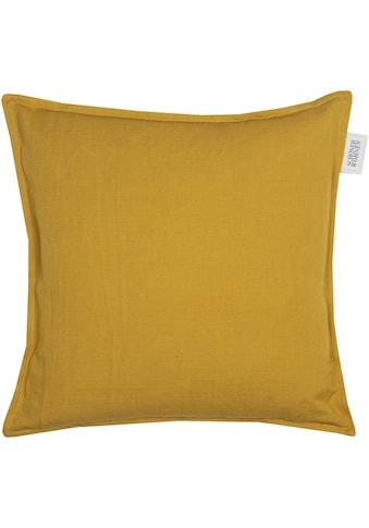SCHÖNER WOHNEN-Kollektion Kissenbezug »Lino«, (1 St.), aus hochwertigem, natürlichem... kaufen