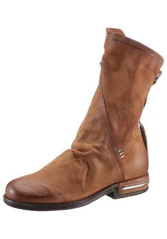 A.S.98 Stiefel »TEAL«, mit Metallicapplikation im Absatz kaufen