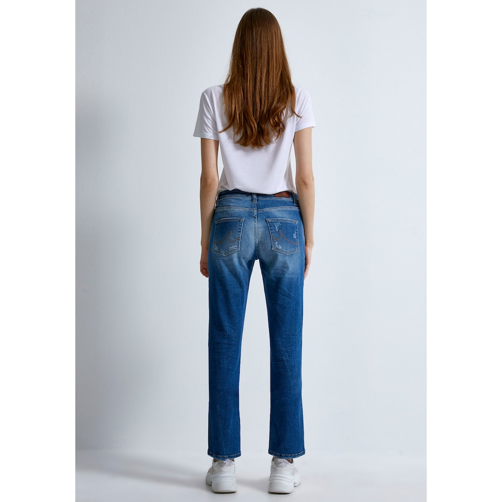 LTB Gerade Jeans »ASPEN Y«, mit coolen Destroyed-Effekten im 5-Pocket Stil
