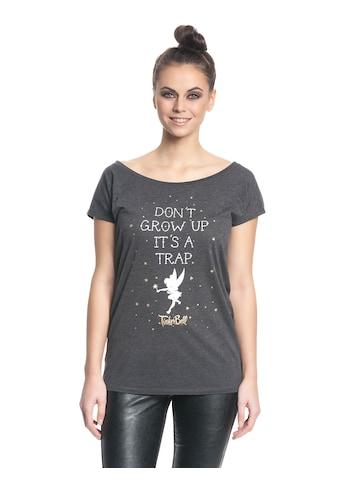 Disney T-Shirt »Tinkerbell Tinkerbell Don't Grow Up Girl« kaufen