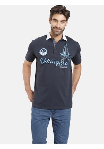 Jan Vanderstorm Poloshirt »NILAS«, mit Rugbykragen, Comfort Fit kaufen