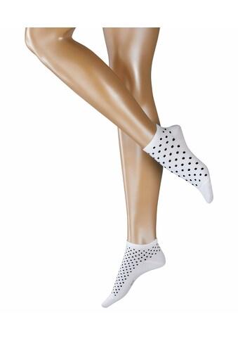 Esprit Sneakersocken »Dot Mix 2-Pack«, (1 Paar), mit angenehmer Baumwolle kaufen