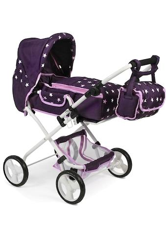 CHIC2000 Kombi-Puppenwagen »Bambina, Stars lila«, mit Teleskop-Federung kaufen