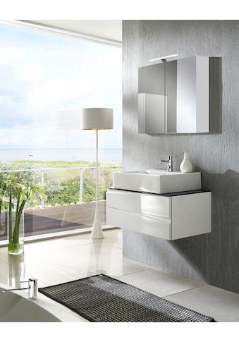 Homexperts Waschbeckenunterschrank »Sharpcut«, Moderner Waschtischunterschrank in... kaufen