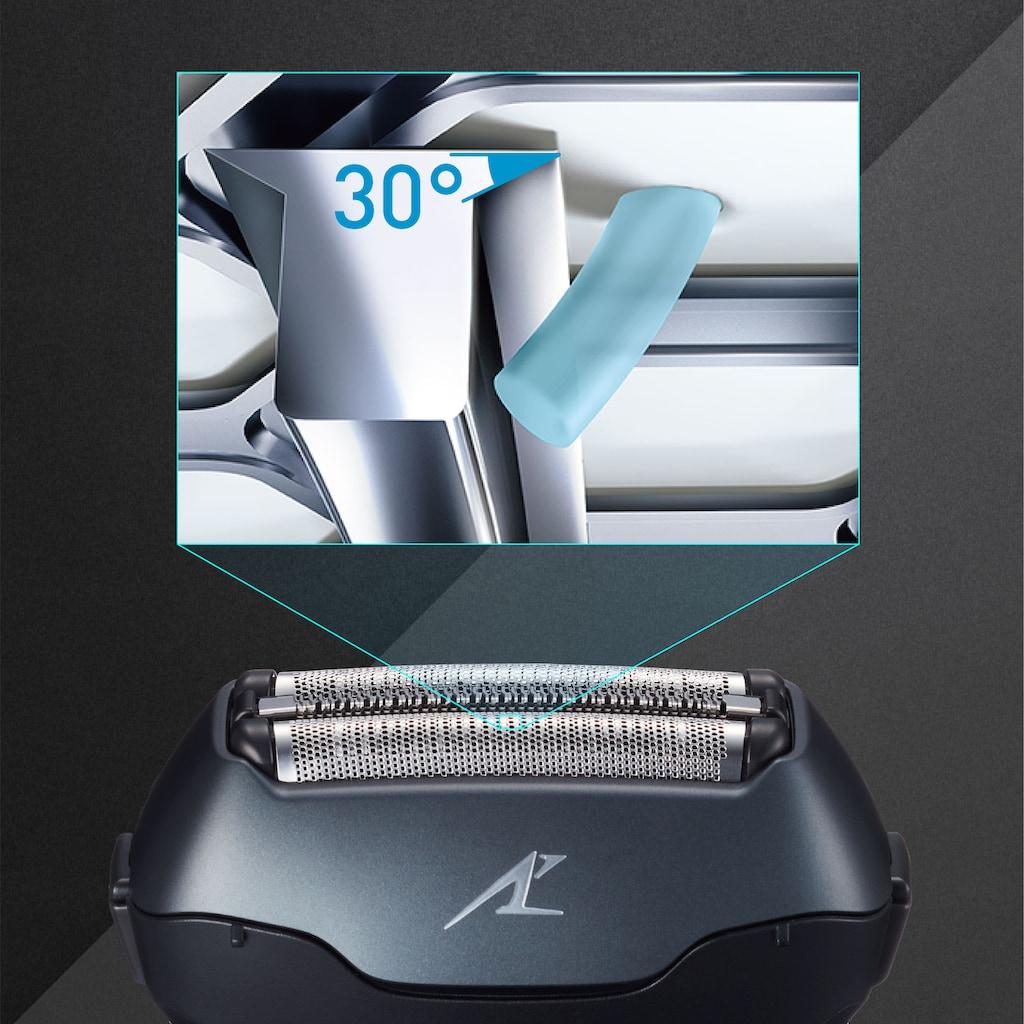 Panasonic Elektrorasierer »ES-LT68-K803«, ausklappbarer Langhaarschneider, Nass/Trocken-Rasierer mit 3 Klingen und 39.000 Schneidebewegungen/Min.