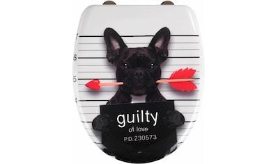WENKO WC-Sitz »Guilty Dog« kaufen