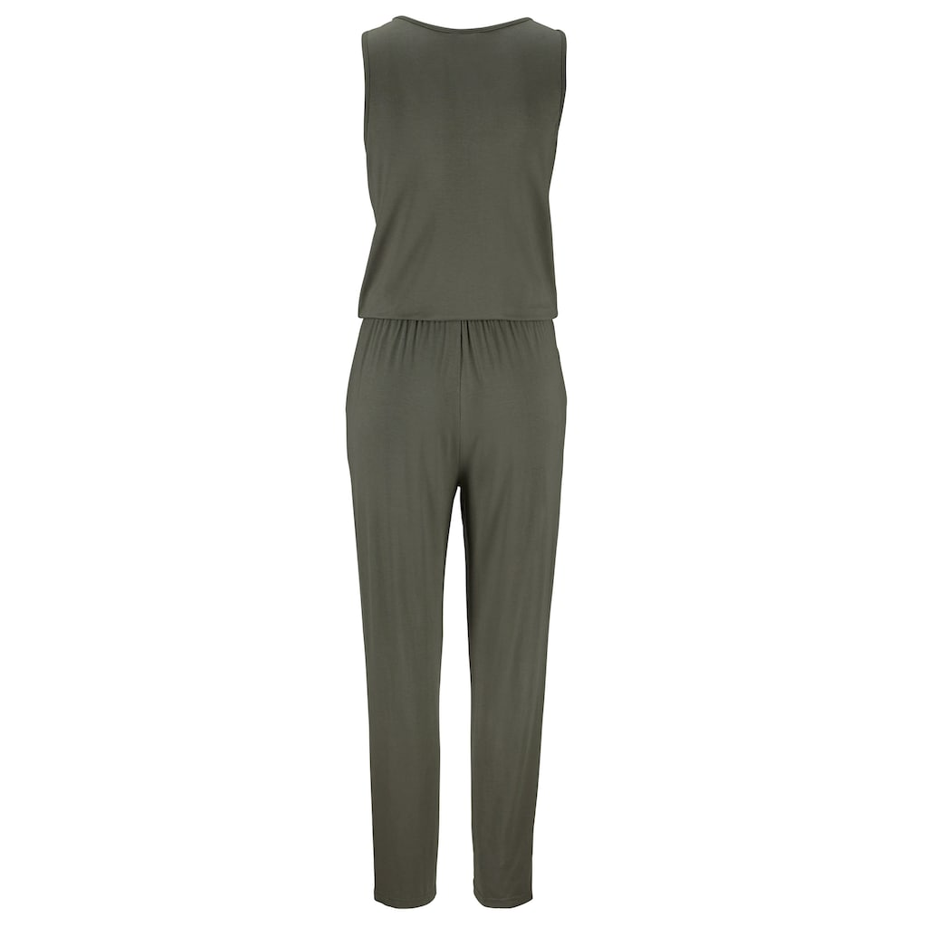 LASCANA Overall, mit Zipperdetail