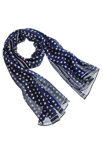 Schal, mit Blümchendessin kaufen