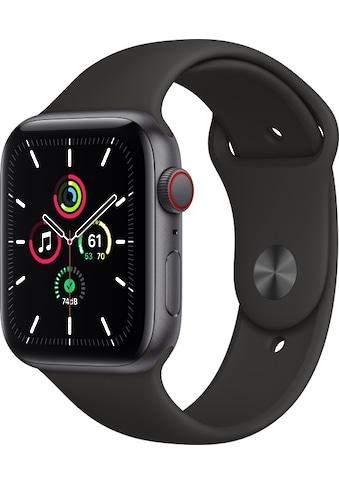 Apple Smartwatch »Series SE (2021), GPS + Cellular, Aluminium-Gehäuse, 44 mm mit... kaufen