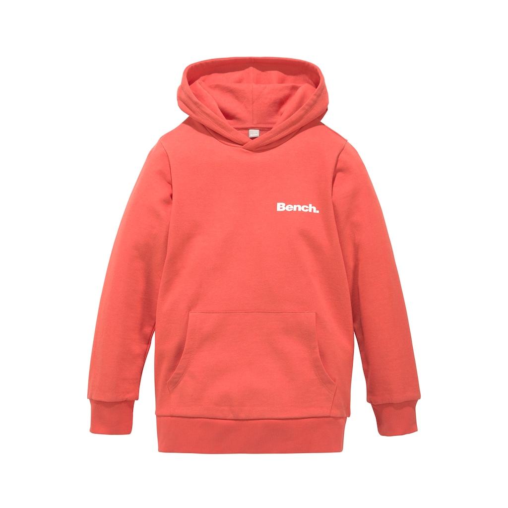 Bench. Kapuzensweatshirt, mit bedruckter Kapuze