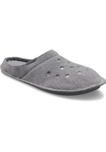 Crocs Hausschuh »Classic Slipper«, mit kuscheliger Innensohle aus Warmfutter kaufen