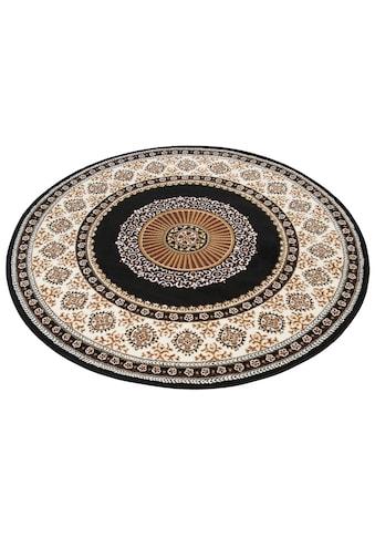 DELAVITA Teppich »Shari«, rund, 7 mm Höhe, Orient - Dekor, Wohnzimmer kaufen