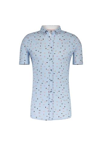 Desoto Jerseyhemd Kurzarm Bügelfrei Button Down kaufen