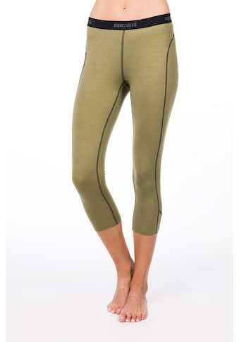 SUPER.NATURAL Funktionstights »W BASE 3/4 TIGHT 175« kaufen