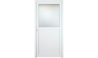 KM Zaun Nebeneingangstür »K602P«, BxH: 98x198 cm, weiß, rechts kaufen
