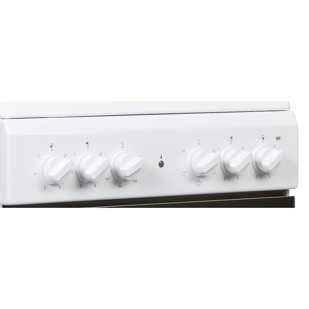 BAUKNECHT Elektro-Standherd »BS5V4KHW/DE«