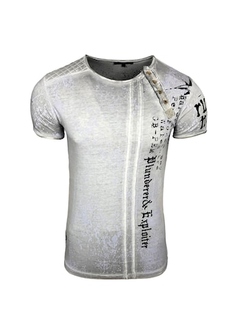 Rusty Neal T - Shirt mit coolem Print kaufen