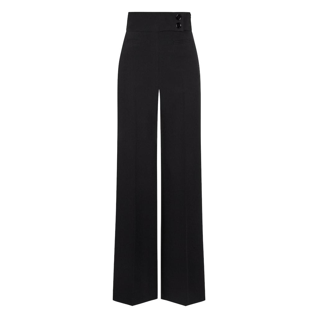 Nicowa Elegante Taillenbund-Hose COREANA mit weitem Bein