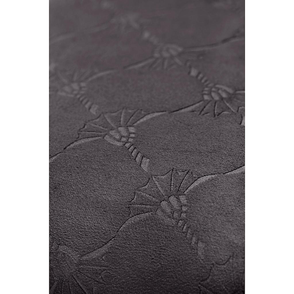 Joop! Kissenbezug »Emboss«, (1 St.), mit Kornblumen-Muster