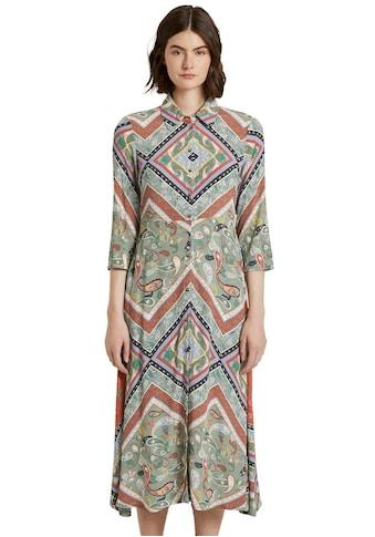TOM TAILOR Denim Hemdblusenkleid, mit wunderschönem Paisley-Muster kaufen