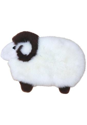 Heitmann Felle Fellteppich »Sheep«, Motivform, 40 mm Höhe, Spielteppich, echtes... kaufen