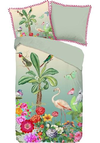 Happiness Wendebettwäsche »Botanica«, mit Pompoms kaufen