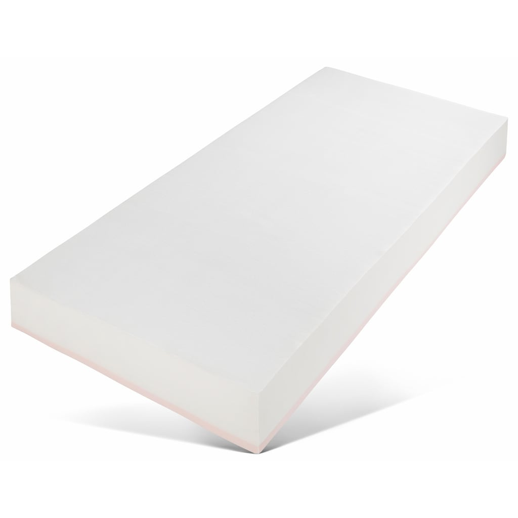 SonnCo Komfortschaummatratze »Cooper«, (1 St.), Mit perfekter Druckentlastung durch 4cm hohen latexähnlichen Weichschaum auf der Oberseite. Ideal für alle, die gerne weich schlafen