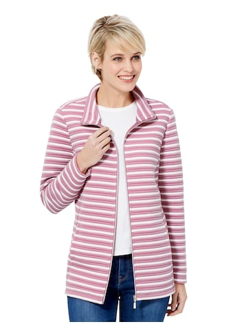Casual Looks Shirtjacke, zauberhaftes Streifen - Dessin kaufen
