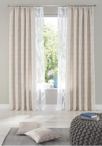 my home Gardine »Cellino«, Vorhang, Fertiggardine, transparent kaufen