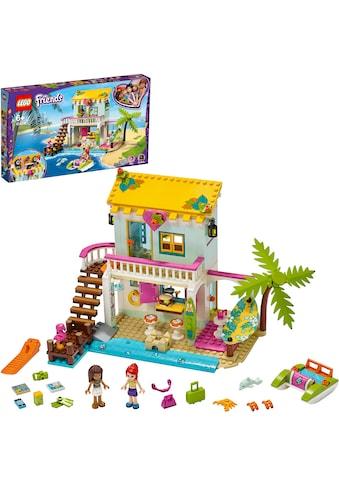 """LEGO® Konstruktionsspielsteine """"Strandhaus mit Tretboot (41428), LEGO® Friends"""", Kunststoff, (444 - tlg.) kaufen"""